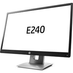 "LCD HP 24"" E240; black/gray, A-"